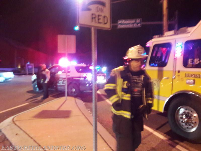Traffic Accident Friday Evening - East Whiteland Volunteer Fire