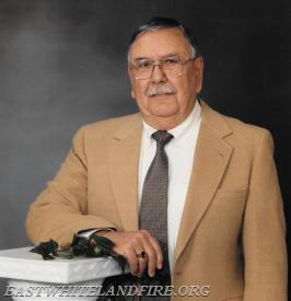 Donald J. Fonda, former Fire Chief of the East Whiteland Fire Company.