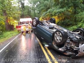 Traffic Accident on Yellow Springs Road in Charlestown Township.