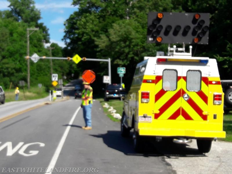 Route 401 Traffic Accident 2 - East Whiteland Volunteer Fire Association