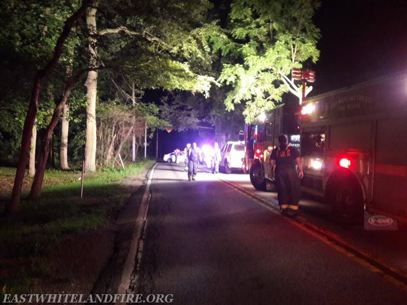 Route 401 Traffic Accident - East Whiteland Volunteer Fire Association