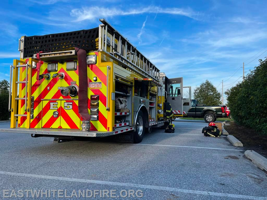 Engine 5 at the West Whiteland Community Day
